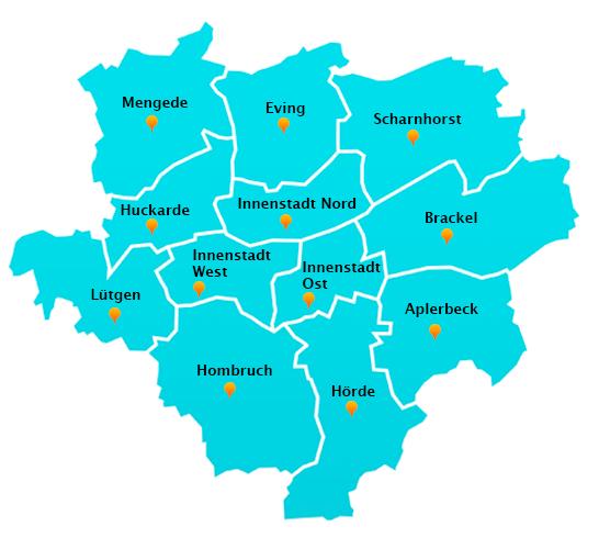 Gartenpflege-Touren in Dortmund